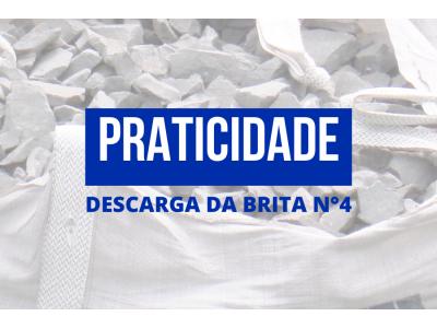 PRATICIDADE - BRITA N°4