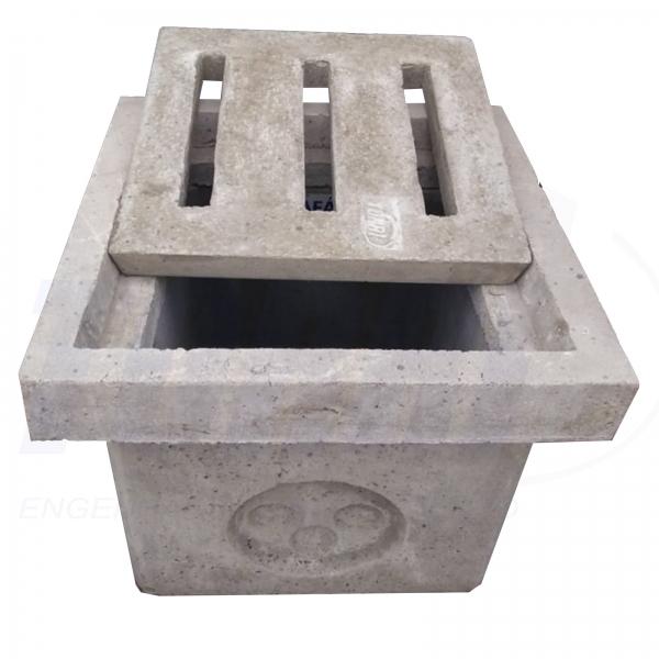 Caixilho de concreto