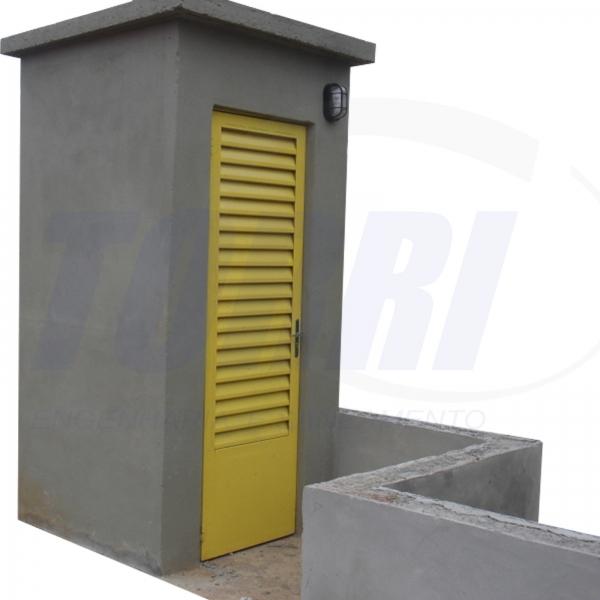 Box p/ instalações e controle de equipamentos