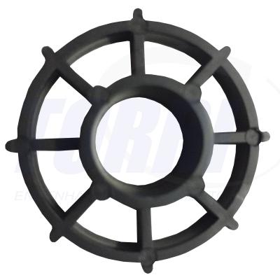 Espaçador circular para postes