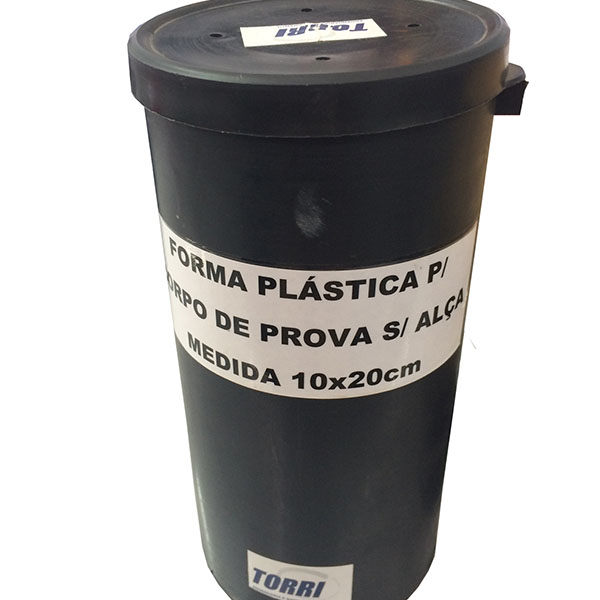 Forma plástica para corpo de prova