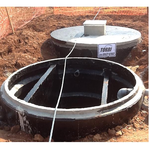 Caixa separadora de óleo/água